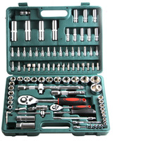 94Pcs car repair Tool Kit Socket Set Ratchet Wrench Screwdriver Bits multifunction Hand Tools For Auto Repair
