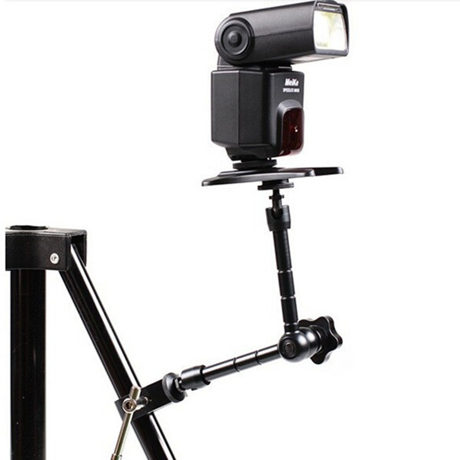 11 Inch Adjustable Friction Articulating Magic Arm Super Clamp Flash Bracket For DSLR Monitor LED Light Camera Accessories