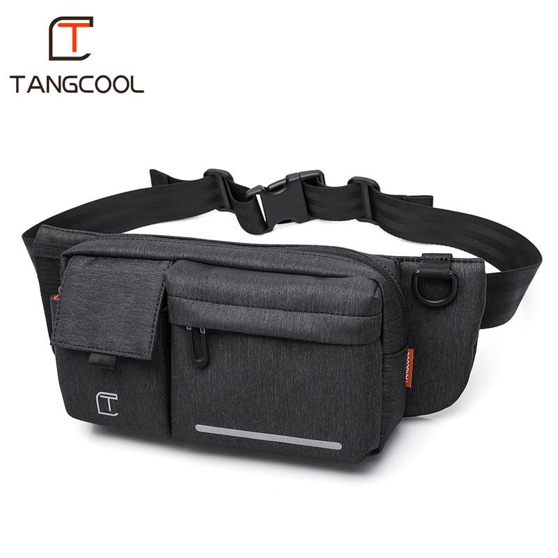 Tangcool tout nouveau Designer unisexe imperméable à l'eau taille Packs pour 7 pouces téléphone femmes voyage poitrine sacs sac à bandoulière poids léger