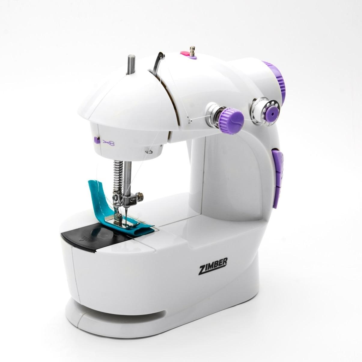цены на Швейная машина ZIMBER, 2 скорости, 2 винта, белый  в интернет-магазинах
