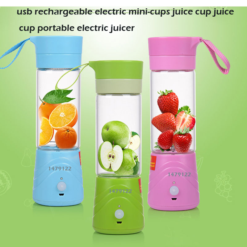 Mini Portable USB Electric Fruit Juicer Smoothie Maker Blender RechargeableFree portable blender mini juicer fruit mixer smoothie maker multifunction extractor blenders household travel cup