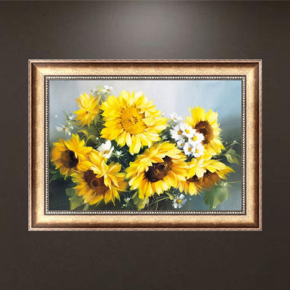 Sunflower DIY 5D Diamond Painting Embroidery Cross Crafts Stitch Kit Decor