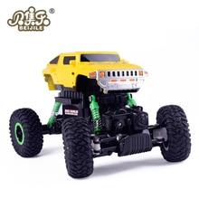 BEIJILE 1:16 4WD RC Рок Гусеничный Багги Drift высокоскоростной восхождение радиоуправляемых моделей игрушечных автомобилей без Цвет посылка