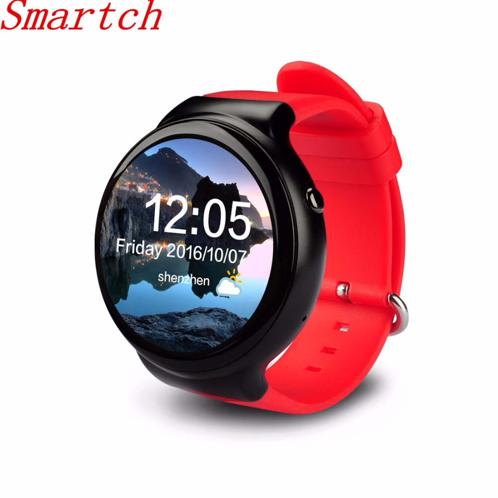 Smartch New I4 Smart Watch Android 5.1 OS 1GB RAM 16GB ROM WIFI 3G GPS Heart Rate Monitor Bluetooth MTK6580 Quad Core SmartWatch недорого