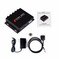 XVGA поле RGB MDA CGA EGA VGA преобразователь сигнала Портативный промышленных монитор видео конвертер компактный черный Мощность адаптер США разъе