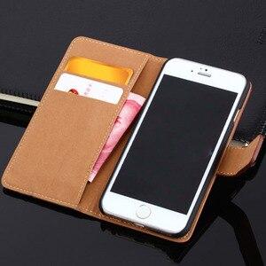 Image 2 - Voor Iphone Xs Max Xr 6 6S 7 8 Plus Case Echt Lederen Cases Voor Iphone X 11 12 mini Pro Max 5 5S Se 2020 Wallet Cover Tassen