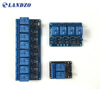 Free Shipping 3pcs Lot 2 Channel Relay Modules Relay Kit Control Panel PLC 5V 4 Channel