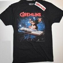 f34e3a5670 GREMLINS T camisa hombres GISMO logotipo negro 100% algodón PRIMARK tamaños  de Reino Unido-