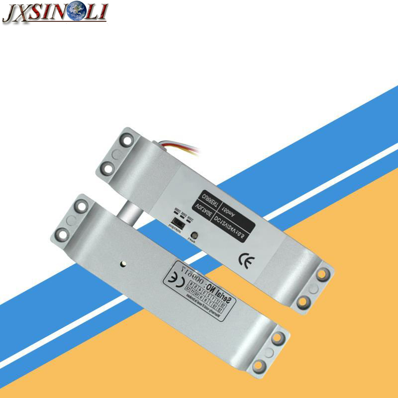 Brand New DC12V  Surface Mounting Type Electric Mortise Lock, Electric Bolt Lock with Time Delay Setting and Door Monitoring usb3 0 round type panel mounting usb connecter silver surface