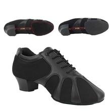 Оксфорд взрослый мужчина Костюмы для латиноамериканских танцев танца ГБ Мужская обувь скраб туфли из натуральной кожи с мягким верхом танцевать Танго тапки квадратный Обувь для танцев