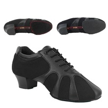 font b Oxford b font Adult Male Latin Dance GB Men Shoes Scrub Genuine Leather