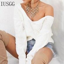 цена на Plus Size Sweater Women Bottom Plus Size Pullover Knitwear V-neck Twist Sweater Winter Character Crocheted Sexy Street Tops