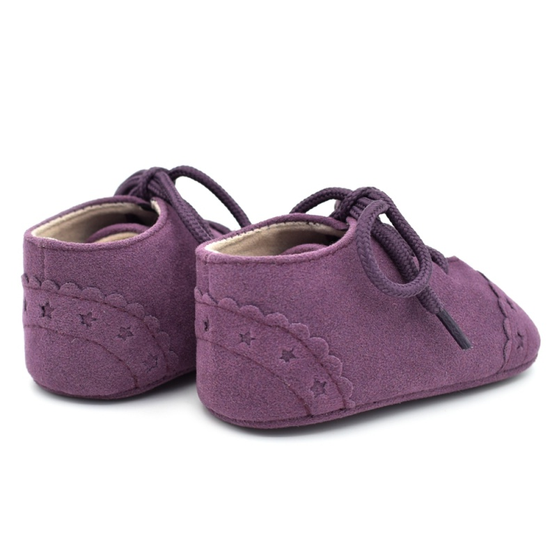 Infant Baby Girls Boys Spring Lace Up Soft Leather Shoes Toddler Sneaker Non-slip Shoes Casual Prewalker Baby Shoes 37