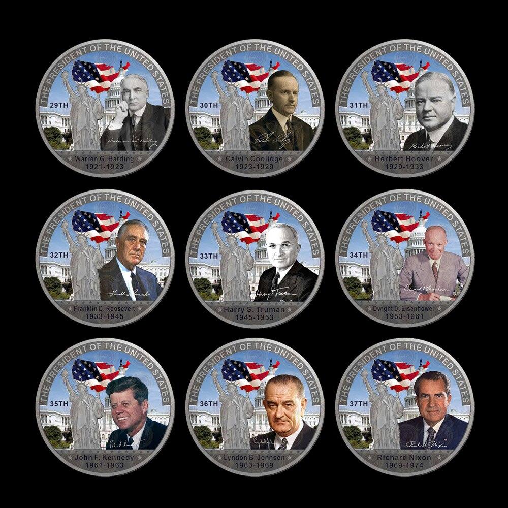 Wr 45 Stücke Alle Vereinigten Staaten Präsident Münzen Einzigartige