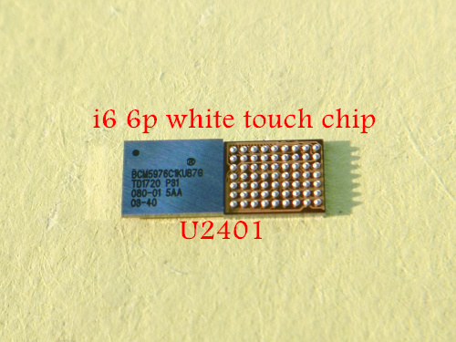 low priced ba05e ca2f1 US $18.0 |10pcs/lot Original new crystal touch ic for Iphone 6 6plus silver  color U2401 BCM5976C1KUB6G-in Integrated Circuits from Electronic ...