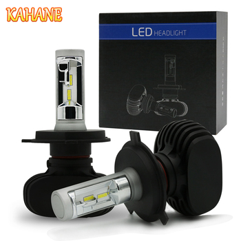 KAHANE 2x 50W LED Car Headlight Bulb COB Chip Fog Lamp 9005 9006 H3 H4 H7 H8 H9 H11 FOR BMW M F20 X5 E53 G30 E90 E36 F30 E46 image