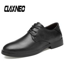 CLAXNEO Man Formal Shoes Genuine Leather Dress Male Shoe social Footwear Office Bussiness Oxfords Wedding