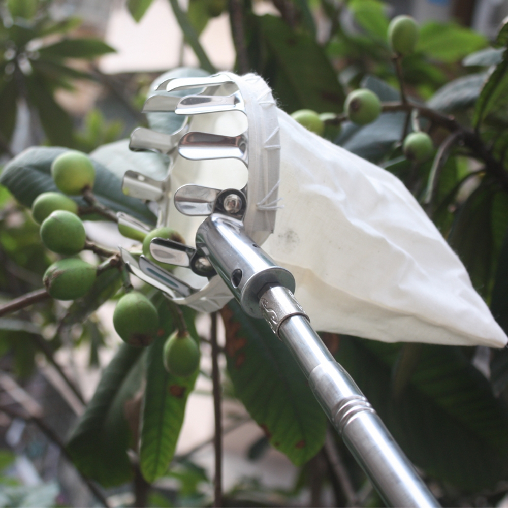 Metal Fruit picker Convenient Horticultural Fruit Picker Gardening Apple Peach Picking Tools ...