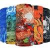 2018 New Fashion Skull Flame Bandana Headband Scarf Multi Functional Seamless Tubular Magic Bandanas Tube Ring Scarf