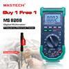Digital Multimeter MASTECH MS8268 Auto Range Full Protection Ac Dc Ammeter Voltmeter Ohm Frequency Electrical Tester
