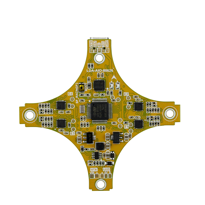 LDARC/KINGKONG SPRACING F3 Flight Controller+ BLHeliS C-H-50 10A 4in1 ESC All in One Board for TING GT7 GT8 FPV Racing Drone rcmoy uav115 brushless micro fpv racing quadcopter drone f3 flight controll 800tvl vtx 10a esc tiny whoop blade inductrix