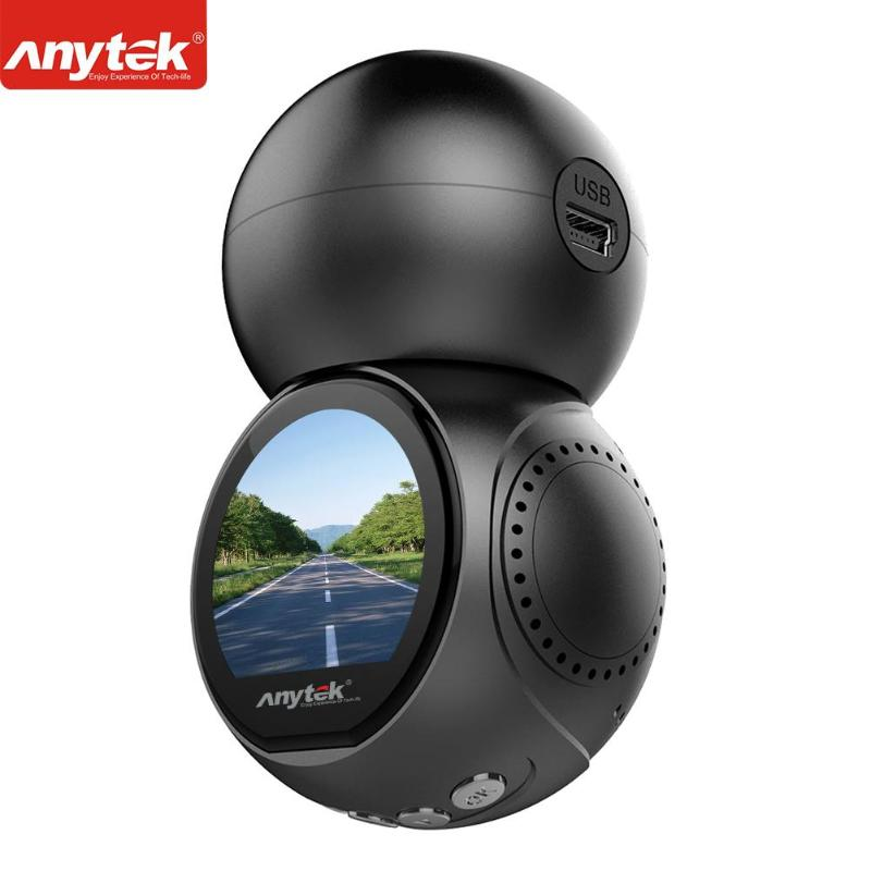 Anytek G21 170 Degree Lens 1080P Full HD WiFi Wireless Car DVR Dash Camera Video Recorder Motion Detection WDR Car Dash Camers anytek b50 2k 4 0 inch dash camera car dvr with mstar chip support g sensor wrd motion detection 1080p full hd car recorder