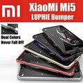 M5 prime para xiaomi mi5 híbrido bumper qmk0224cn original luphie incrível altamente oxidado aluminum metal frame dez estilo