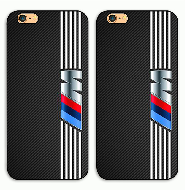 BMW 3 Logo Plastic Case For iPhone