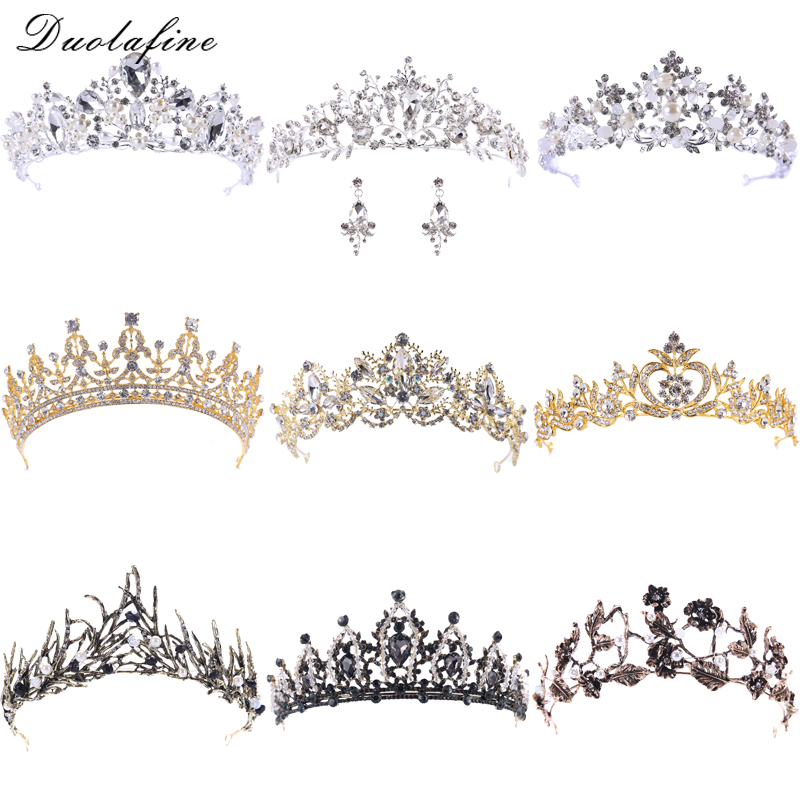 Top Hot Crystal Crown Princess Prom Tiara Wedding Bridal Hair Jewelry Accessories Quinceanera Pageant Crowns Birthday gift