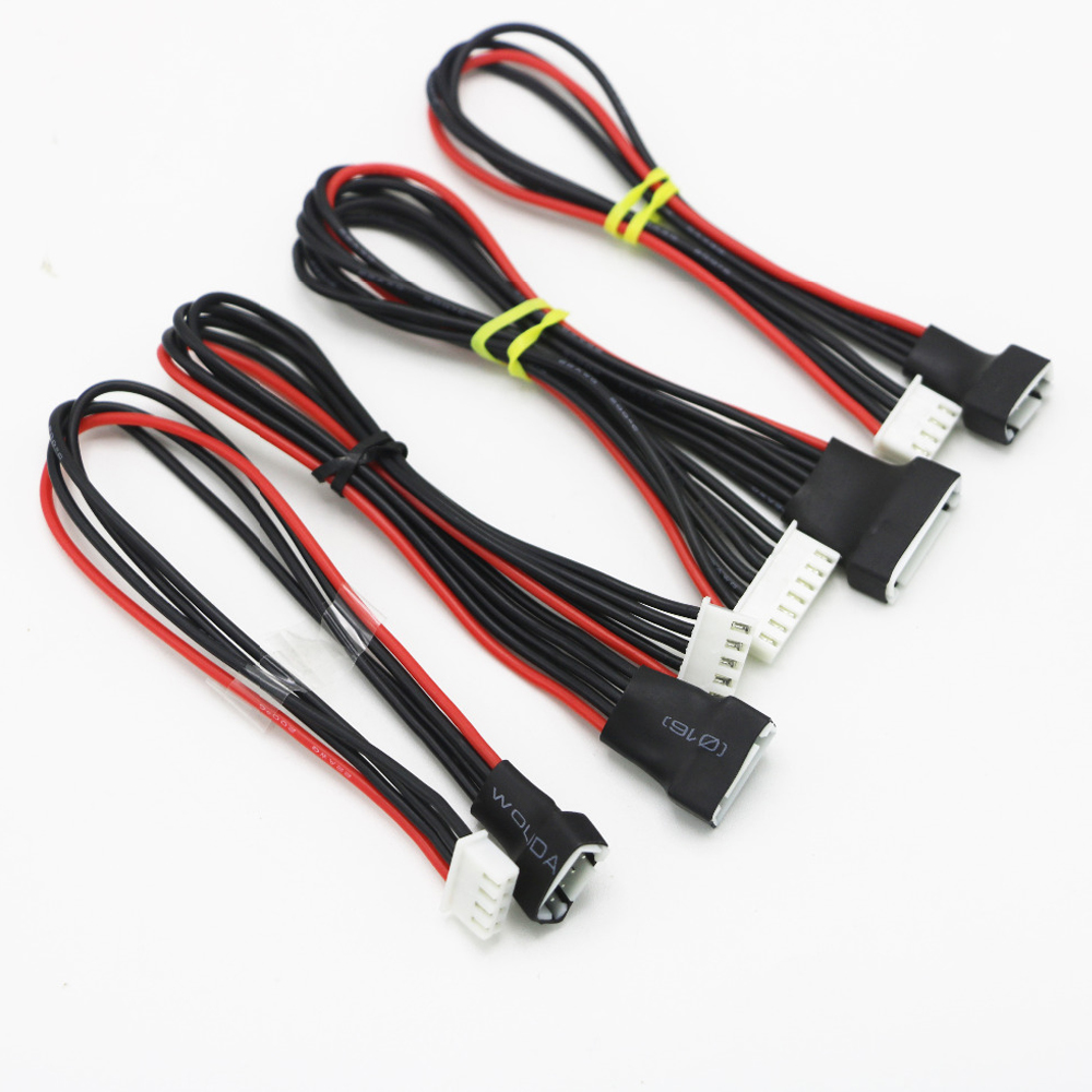 100pcs/lot JST-XH 2S/3S/4S/6S 20cm 22AWG Lipo Balance Wire Extension Charged Cable Lead Cord for RC Battery charger image