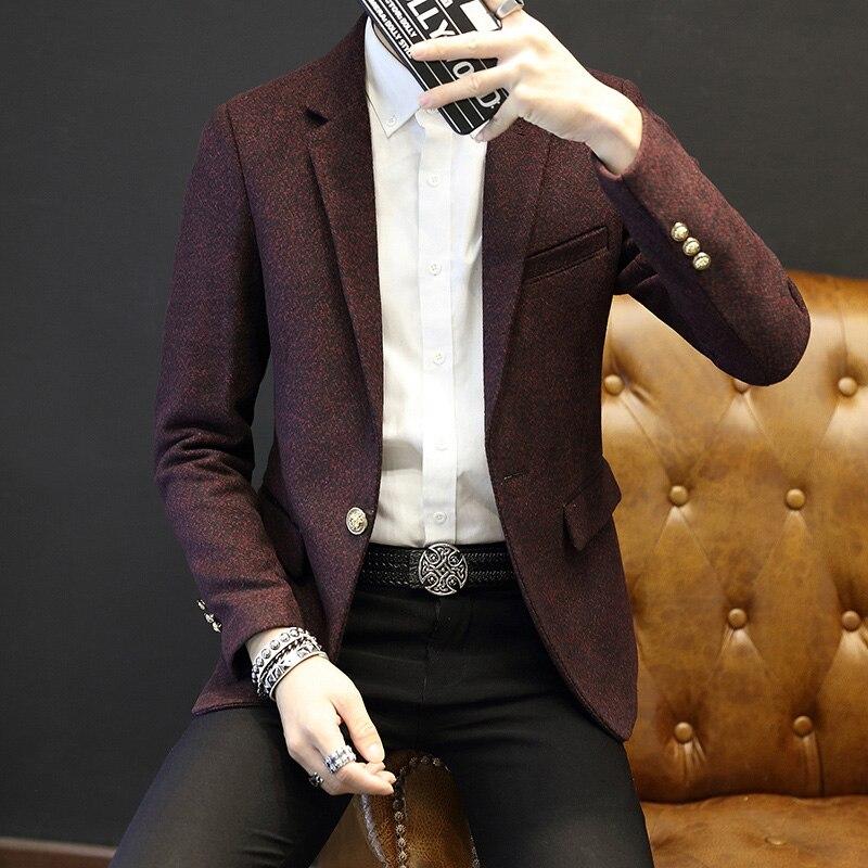 2016 Νέα Άφιξη Business mens blazer Casual Blazers Men - Ανδρικός ρουχισμός - Φωτογραφία 2