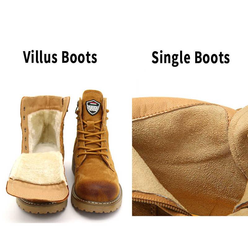 BIMUDUIYU ฤดูหนาวฤดูใบไม้ร่วงของแท้หนัง Suede บู๊ทส์คุณภาพสูงเช็ดสีแฟชั่นผู้หญิงรองเท้าใหม่หิมะรองเท้า