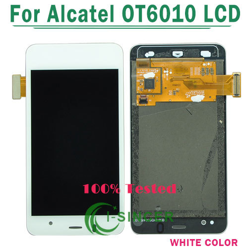 1/PCS Tested White For Alcatel One Touch Star OT6010