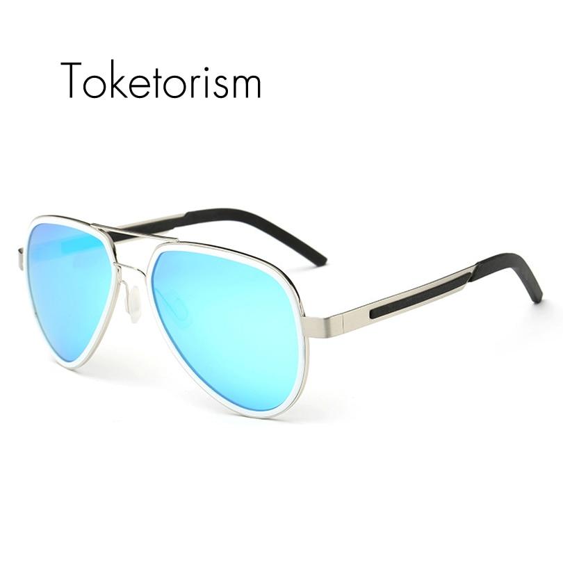 99ba271375 Toketorism Mais Recente moda mulheres óculos de sol piloto polarizada  condução óculos de sol dos homens ao ar livre 523A