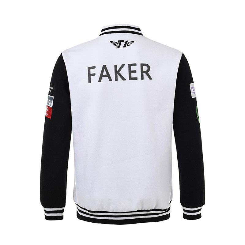 84ebcd8c 2017 LOL SKTelecom T1 Mid Season Invitational Team Jersey SKT Faker Jacket SKT  T1 SKT1 Jacket Peanut Bang Coat-in Jackets from Men's Clothing on ...