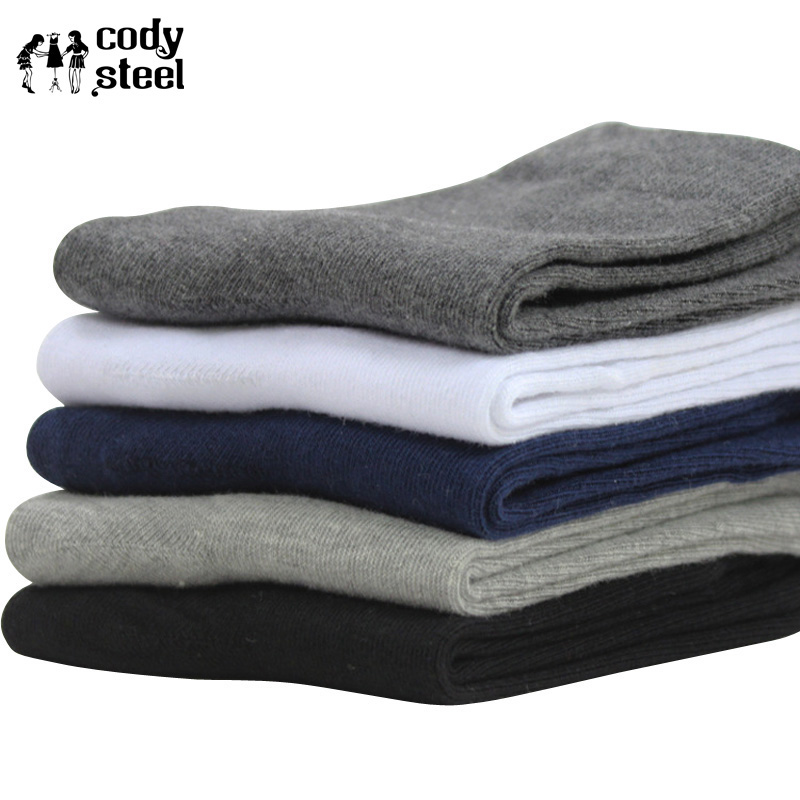 Buy Cheap Cody Steel Man Fashion Socks Designer Cotton Socks For Men Casual All-match Solid Color Socks Business Male 3pairs/lot Agreeable To Taste Underwear & Sleepwears