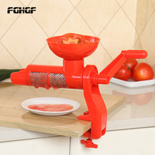 Tomato Squeezer Sauce Juicer Plastic Hand Manual For Tomatoes Juice Multifunctional  Kitchen Accessories Gadgets Fruits Tools цена и фото