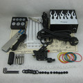 Complete Tattoo Kit Set Tattoo Machine Gun Power Supply Needle Grip Tip Combo Kit Set Supply TKS116#