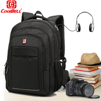 CoolBell 15 6 17 3 Inch Laptop Backpack Water Resistance Computer Daypack Gear Bag For Macbook