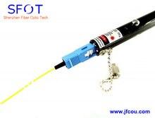 De tipo Pen Visual de Fallos de fibra Óptica Cable Tester Locator.10mw AAA.