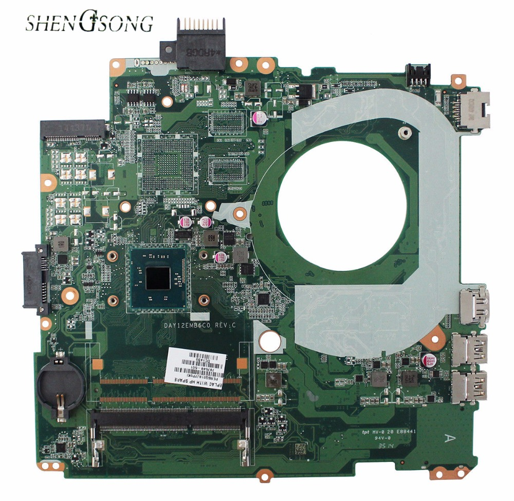 787548-001 Free Shipping DAY12EMB6C0 for HP Pavilion 14-V laptop motherboard 787548-501 SR1YW N3540 100% Tested 511864 001 board for hp pavilion dv6 laptop motherboard with for intel chipset free shipping