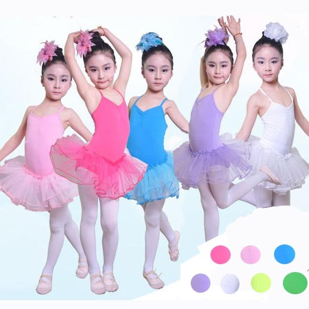 093b10a726 Chegada nova Crianças Meninas Ballet Tutu Vestido Roupas Vestidos Danza  Vestido Bailarina Nina Balet Roupa do