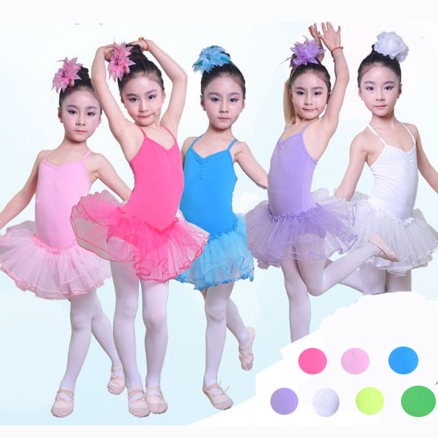 03831ca27e Chegada nova Crianças Meninas Ballet Tutu Vestido Roupas Vestidos Danza  Vestido Bailarina Nina Balet Roupa do