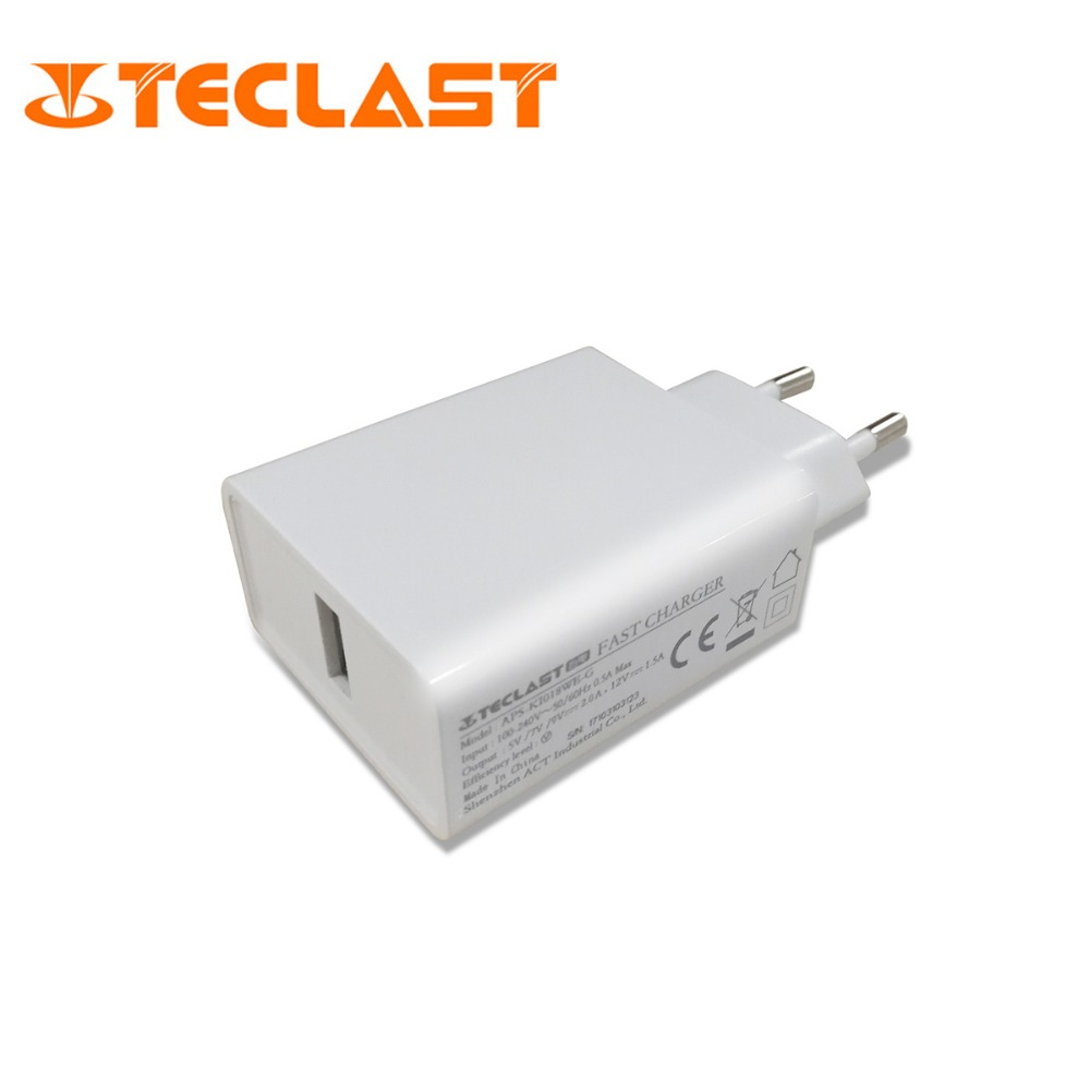 Original Teclast Fast Charger for Teclast T10/T8 Tablet Fast Chargers цена и фото
