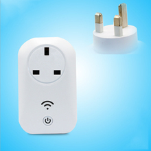 Remote socket UK Standard Power Socket 13A Smart Wall Sockets Portable Plugs Free Shipping