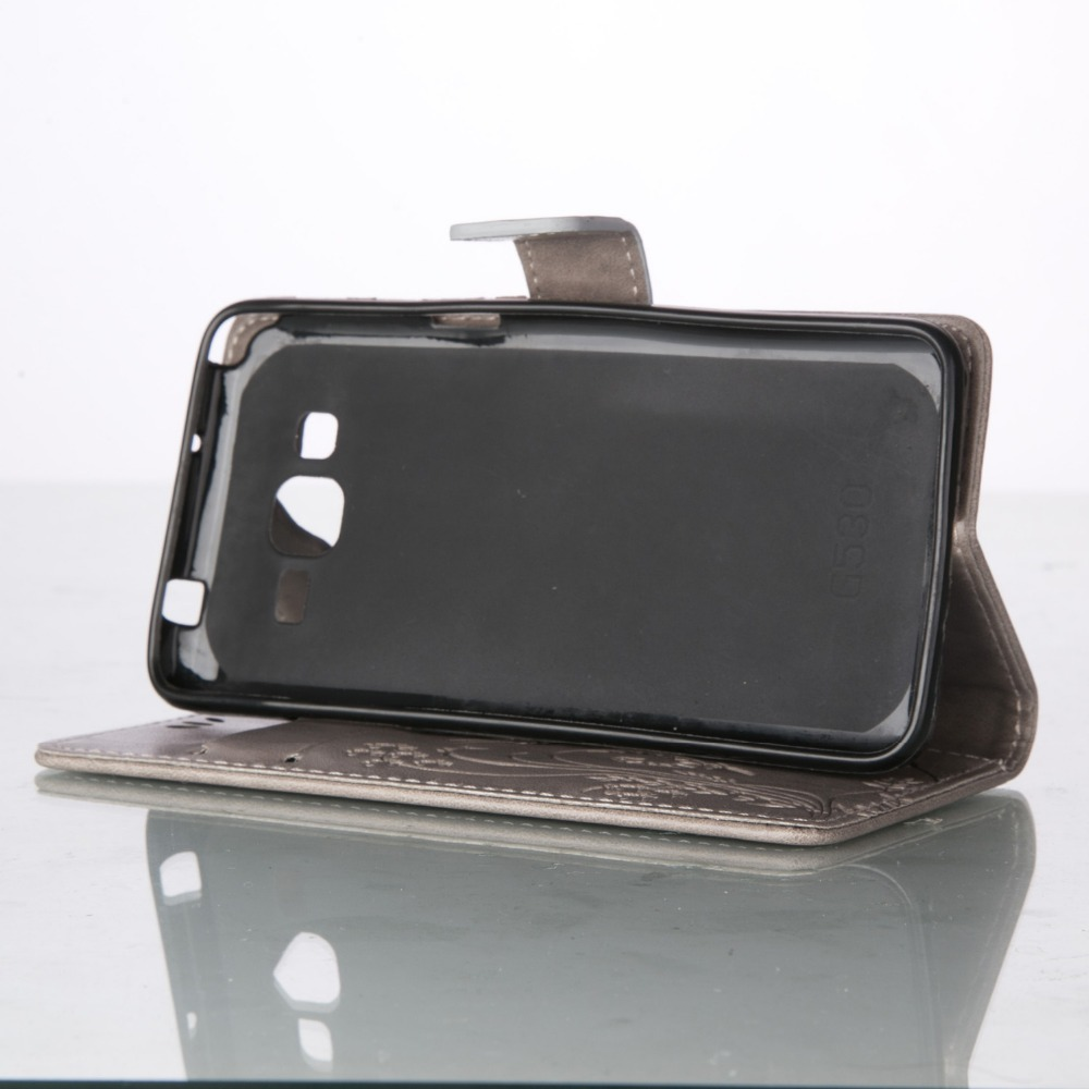 Pu Leather Case For Samsung Galaxy Ace 4 Lite G313 G313h Sm Cassing Casing Housing V Fullset Neo G318h Stand Card Wallet 3d Butterfly In Flip Cases From Cellphones