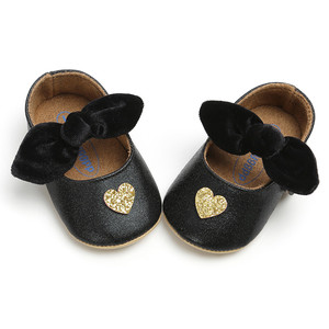 2019 hot sale  Baby Boys Love Shoes Bowknot Fashion Toddler First Walkers Kid Shoes Baby Summer 0-1-3 Year Anti-slip Soft Bottom