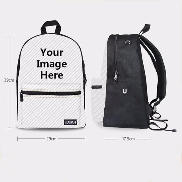 Plátenný batoh s otvorom na slúchadká Canvas Backpack Earphone Hole