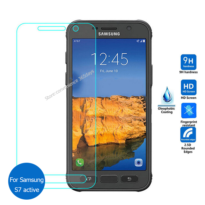 2PCS For Samsung Galaxy S7 Active Tempered Glass Screen Protector 2.5 9h Safety Protective Film On G981A Sm-G981A S7Active S 7