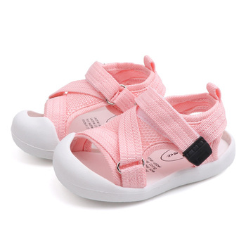 2019 Summer Infant Toddler Shoes Baby Girls Boys Toddler Shoes Non-Slip Breathable High Quality Kids Anti-collision Shoes 4